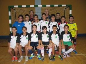 Francisco Segado 'Pacote' trabaja con 13 jugadores en la categoría alevín