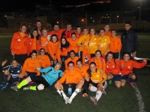 El Luis de Camoens consiguió el doblete en la Liga y Copa Federación de fútbol 8