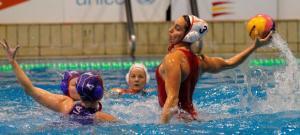 Anni Espar, una de las destacadas del equipo español ante Rusia
