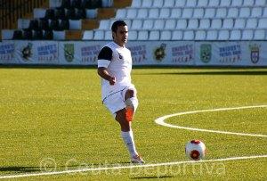 Ernesto pudo haber jugado en La Palma sus últimos minutos con la AD ceuta FC