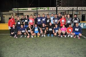 La casi totalidad de los árbitros de fútbol asistió al control físico