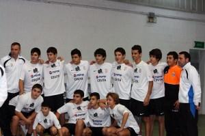 El Ceutí no tuvo opción ante el Gades Cajasol A en partido disputado en Castellar de la Frontera