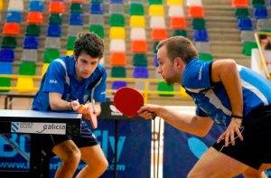 Los jugadores del Gabitec no han podido con la pareja gallega en el decisivo partido de dobles