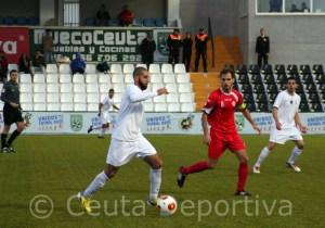El San Roque empató a un gol en el Murube en el encuentro de la primera vuelta