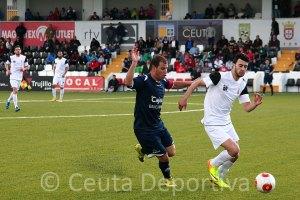 El Ceuta buscará la victoria en San Roque, tras el empate a cero contra el Pozoblanco en el Murube