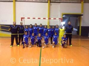 El Estudiantes ganó todos sus partidos en la liga alevín femenino organizada por la delegación gaditana de balonmano