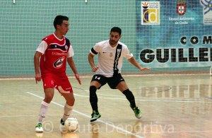 Rafa Peñalver, durante un partido de esta temporada en el 'Guillermo Molina'