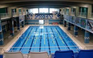 Imagen de la piscina del Complejo Deportivo 'Guillermo Molina'