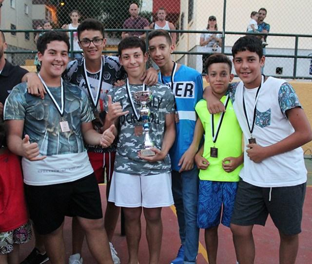 El Poligono Gano El Torneo De Futbol Sala Que Se Disputo En Su Barriada Ffce