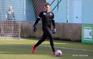 Isi vuelve a la portería de la AD Ceuta FC
