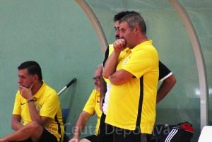 Quino Gallardo, entrenador de la UA Ceutí de Tercera