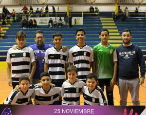 20 equipos compiten en la categoría infantil de fútbol sala