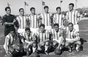 Formación del Atlético de Ceuta que superó a la Real en la entonces denominada Copa del Generalísimo