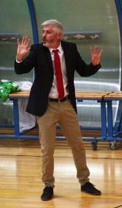 Javi Garrido, entrenador del Mengíbar