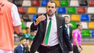 Carlos Sánchez, entrenador del Rivas Futsal