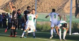Jugadores del Córdoba celebran el gol del empate