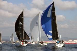 Unos 50 barcos han participado en esta segunda prueba del Interclubes del Estrecho