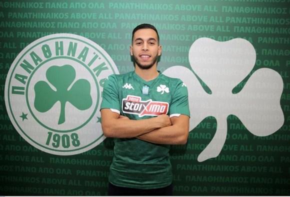 Anuar Tuhami juega en el Panathinaikos griego cedido por el Real Valladolid