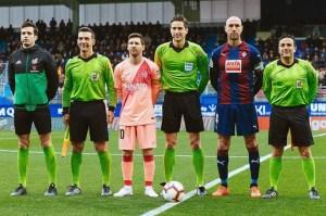 Munuera Montero, antes del Éibar - Barcelona de esta temporada