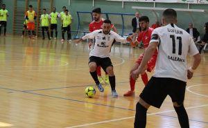 Manu Orellana, durante un partido con la UA Ceutí