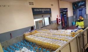 Anyera ha donado a la ciudad todo su stock de consumibles