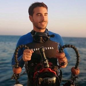 Rafael Fernández, buceador y fotógrafo submarino