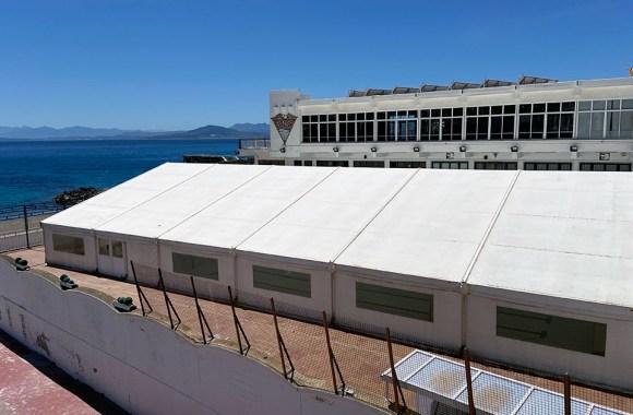 La piscina del CN Caballa lleva casi dos meses cerrada