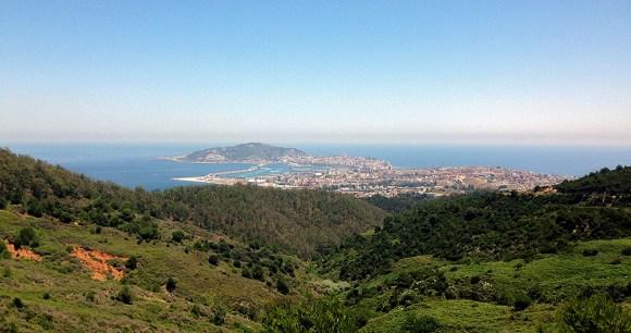 Vista de Ceuta desde García Aldave