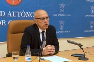Javier Guerrero ha mostrado su preocupación tras los últimos contagios confirmados en Ceuta
