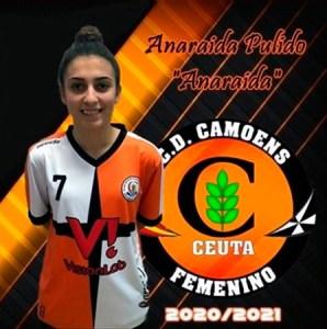 Anaraida seguirá siendo jugadora del Camoens