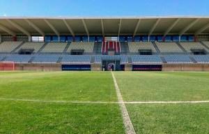 El estadio Nuevo Morador de Algeciras, uno de los escenarios de la fase de ascenso a Segunda División