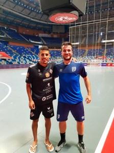 Hamza Maimon y Dani Ramos, en el Martín Carpena de Málaga