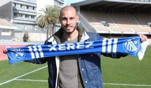 Antonio Sánchez, jugador del Algeciras cedido al Xerez DFC