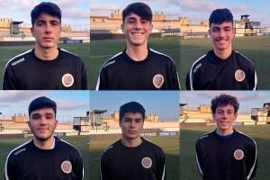 Los seis jugadores renovados por el Polillas