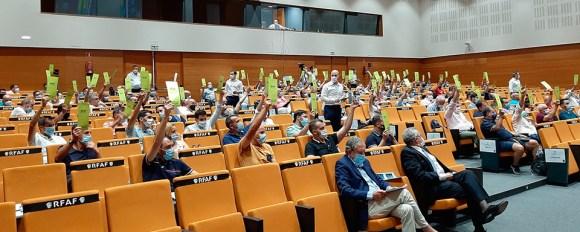 Los asambleístas han aprobado por unanimidad el nuevo plan de competición