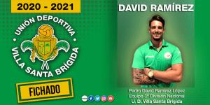 Así ha anunciado el Villa Santa Brígida la incorporación de David Ramírez