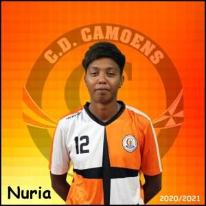 Nuria se ha convertido en nueva jugadora del Camoens