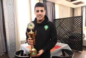 Hamza Maimon vuelve con Marruecos tras ganar la Copa de África