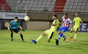 Jesús Pozo es uno de los jugadores del Ceuta con problemas físicos / DAM