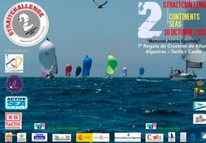 Cartel anunciador de la VII Strait Callenge