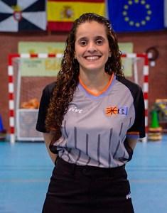 Sucaina Hamed, colegiada ceutí de baloncesto