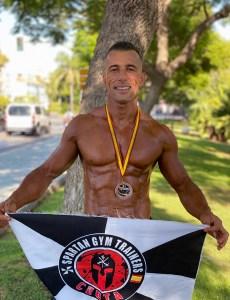 El atleta ceutí José Marcelo Hernández