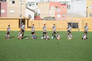 Alumnos de la Escuela de Fútbol 8 / Foto: FFCE