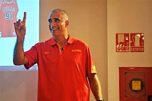 Miguel Pérez Niz, instructor nacional de la Federación Española de Baloncesto