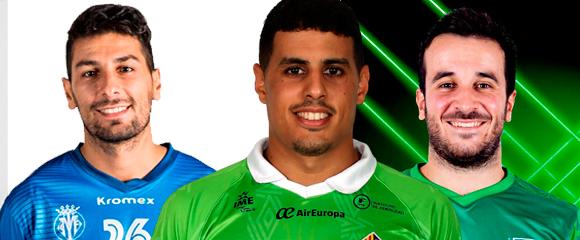 Tuli, Hamza y Dani Ramos, los tres representantes ceutíes en Primera División