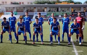 Formación del Xerez DFC en su visita a Ceuta