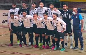 Formación de la UA Ceutí FS, este sábado en Móstoles