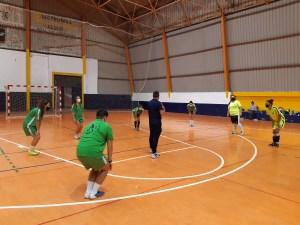 Imagen del entrenamiento del CD Hércules este miércoles en La Libertad