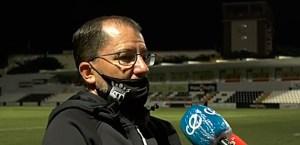 Romero, atendiendo a los medios
