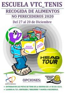 Cartel anunciador de la iniciativa de VirtualTenis Ceuta